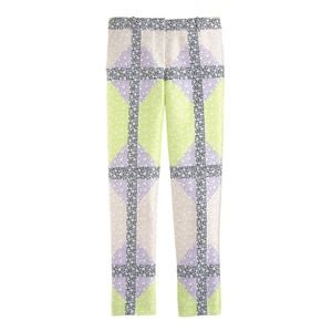 J. Crew Collection Silk/Wool Floral Ankle Pants